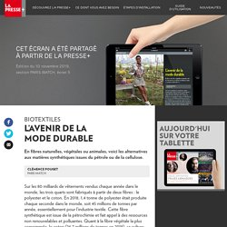 L'avenir de la mode durable