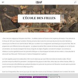 L'École des filles : cliquez sur l'image pour accéder au dossier de la bnf