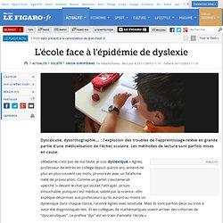France : L'école face à l'épidémie de dyslexie
