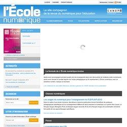 L'École numérique»Accueil