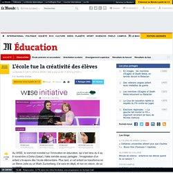 L'école tue la créativité des élèves