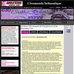 L'économie britannique en bref