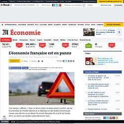 L'économie française est en panne