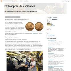 L'économie est-elle une science ?