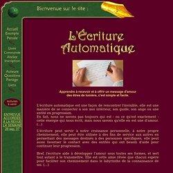 SITE ADDR .com /ecriture.automatique