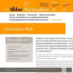 L'écriture Web