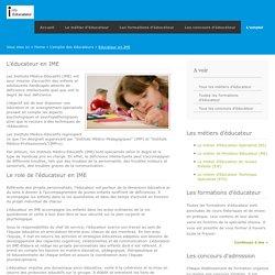 L'éducateur en IME