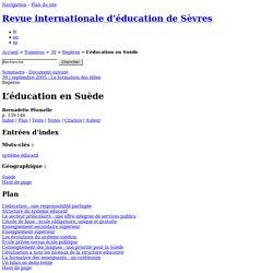 L'éducation en Suède