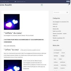 """ L'effata "" du coeur - Line Asselin"