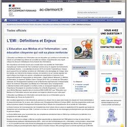 L'EMI : Définitions et Enjeux