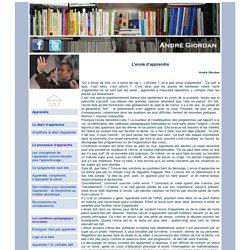 André Giordan - L'envie d'apprendre
