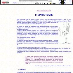 L'épisiotomie