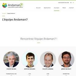 L'équipe Andaman7
