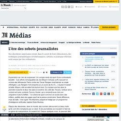 [2010] L'ère des robots-journalistes