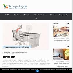 L'ergonome au service des entreprises