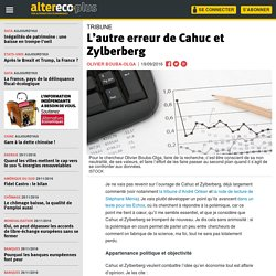 L'autre erreur de Cahuc et Zylberberg