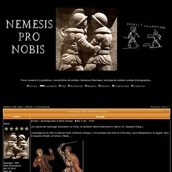 L'esclavage dans la Rome antique