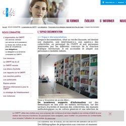 Le centre de documentation du CNFPT