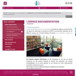 17/3 - 14h30/16h30 - CENTRE DE DOCUMENTATION - CNFPT L'espace documentation Lille