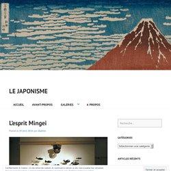 L'esprit Mingei – Le japonisme