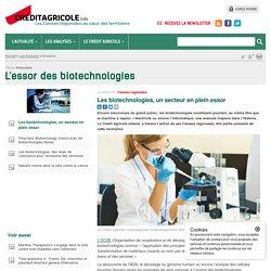 L'essor des biotechnologies