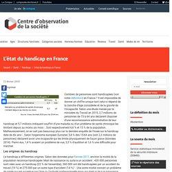 L'état du handicap en France