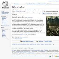 L'Éternel Adam, Jules Vernes