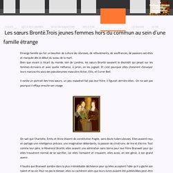 L'étrange famille Brontë - Les conférences de Mathilde
