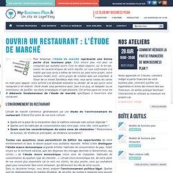 L'étude de marché pour un restaurant