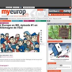 L'Europe en BD, épisode #1 en Allemagne de l'est