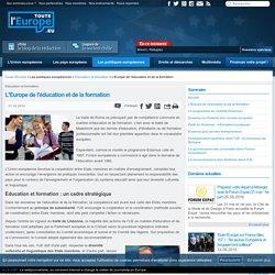L'Europe de l'éducation et de la formation