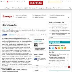 L'Europe, en fin