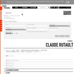 L'évènement Claude Rutault