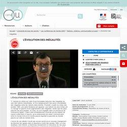 Une vidéo de Canal U :L'évolution des inégalités