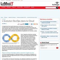 L'évolution DevOps dans le Cloud