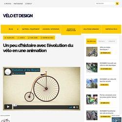 L'évolution du vélo en une animation