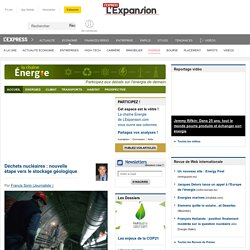 L'EXPANSION - LA CHAINE ENERGIE