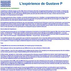 L'expérience de Gustave P 6600 - 11 ans - Sommeil