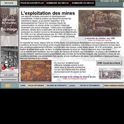 L'exploitation des mines