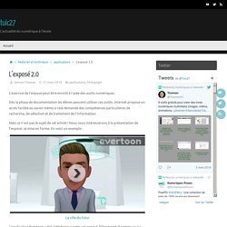 L'exposé 2.0 – tuic27