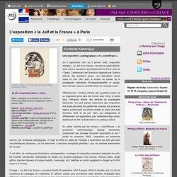 L'exposition «le Juif et la France» à Paris