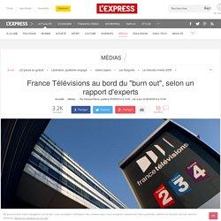"""France Télévisions au bord du """"burn out"""", selon un rapport d'experts"""