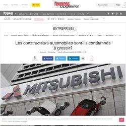 Automobile : Les constructeurs automobiles sont-ils condamnés à grossir?