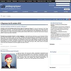 L'Expresso du 03 octobre 2012