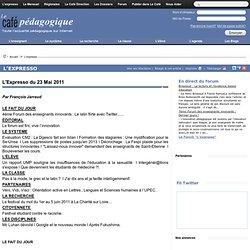 Expresso du 23 Mai 2011