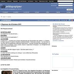 Expresso du 6 Octobre 2011