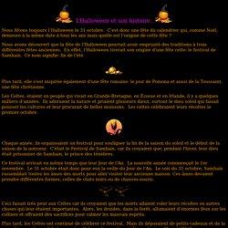 L'Halloween et son histoire