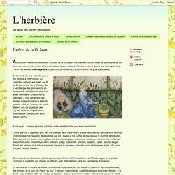 L'herbière: Herbes de la St-Jean