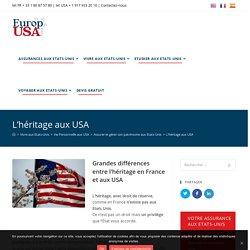 L'héritage aux USA – EuropUsa