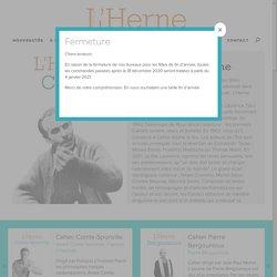 L'Herne – Cahiers de L'Herne